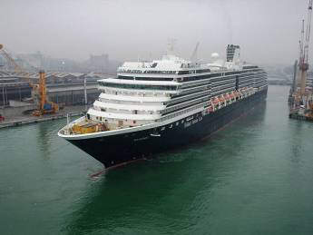 The Noordam is the largest of the Vista-class ships.
