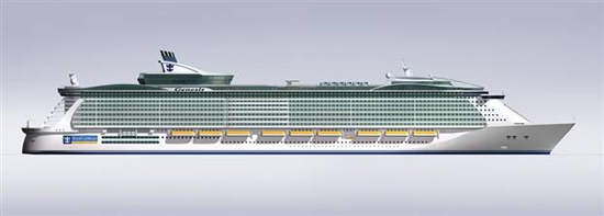 The Genesis will be able to carry over 5,400 passengers.