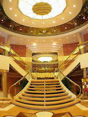 MSC Cruises are well known for their luxury and the ships are known for their superb Italian design.