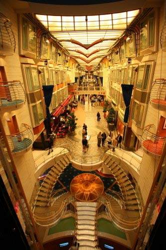 There will be a Royal Promenade bigger than any seen before.