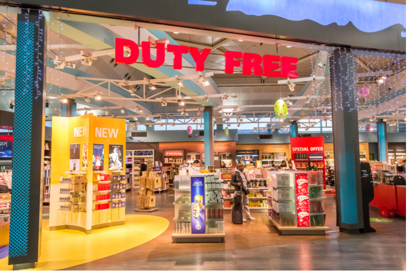 Duty-free shopping 2019