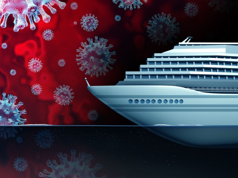 Coronavirus impact on cruise ships